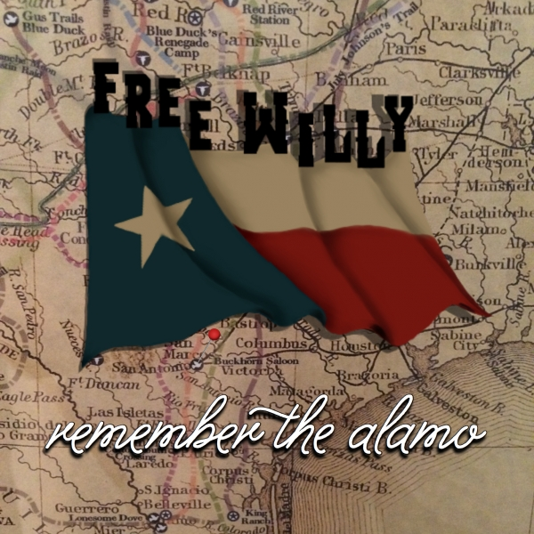 Free Willy Remember the Alamo CD cover